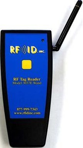 Hand Held RFID Wand Reader from RFID, Inc.-Image