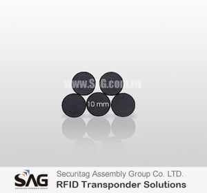 SAG RFID 10mm Button Tag -Image