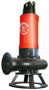 Submersible Sewage Pump Capable of Pumping 5500GPM-Image