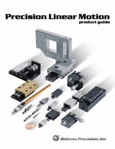 Precision Linear Motion Product Guide by Del-Tron-Image