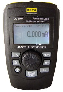 Martel LC-110H mA Calibrator with HART Diagnostics-Image
