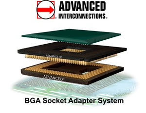 BGA Socket Adapter System-Image