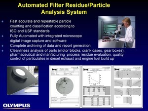 Automated Filter Residue/Particle Analysis System-Image