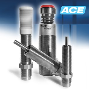ACE Controls Stainless Steel Shock Absorbers-Image