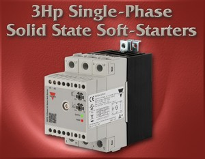 3Hp Single-Phase Solid State Soft-Starters-Image