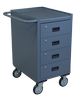 Mobile Cabinet - Narrow, 4 Drawers-Image