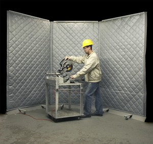Noise Control Curtains from Steel Guard-Image