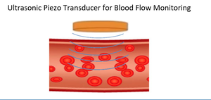 Piezo Transducer for Blood Flow Monitoring-Image