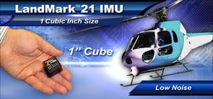"LandMark™ 21 IMU - 1"" Cube Low Noise IMU-Image"
