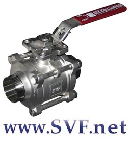 SVF CleanTECH 3-pc Sanitary Ball Valve-Image