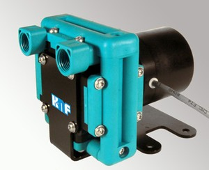 6 lit/min Liquid Diaphragm Pump has Pulseless Flow-Image