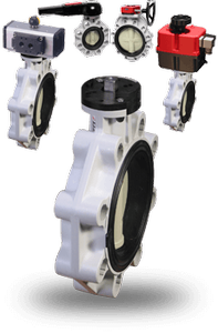 New Polypro Series Butterfly Valves -Image