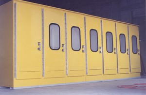 OSHA-Yellow Fiberglass Enclosures-Image