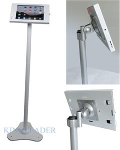 Rotatable metal kiosk stand for ipad-Image