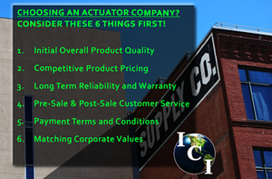 CHOOSING AN ELECTRIC ACTUATOR COMPANY?-Image
