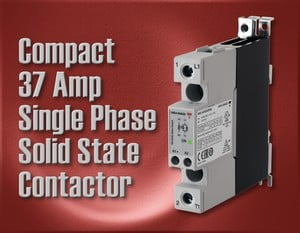 Compact 37 Amp 1-Phase Solid State Contactors-Image