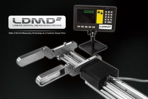 Linear Digital Measuring Device for Long Lengths-Image