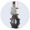 Thermal Shutoff Butterfly Valve with Fusible Link-Image