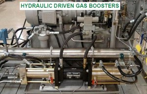 Hydraulic Driven Gas Boosters-Image