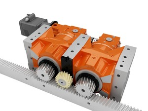 Zero-backlash, DRP+ Rack and Pinion Drive-Image