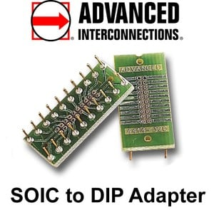 SOIC to DIP Adapters - Lead Free-Image