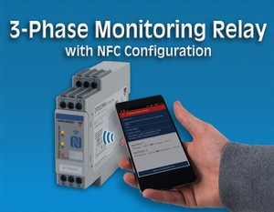 3-Phase Monitoring Relay w/NFC Configuration-Image