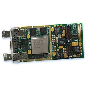 New XMC Module links Configurable Virtex-6 FPGA -Image
