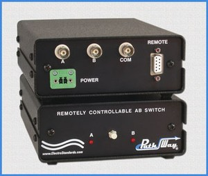 bnc a b switch with 75 ohm rs232 serial remote image 高清图片