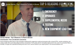 Aerzen Rental - Top 5 Reasons To Rent A Blower-Image