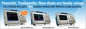 FREE Analysis Module with Oscilloscope Purchase!-Image