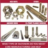 Precision Fastening Hardware - what do you need?-Image