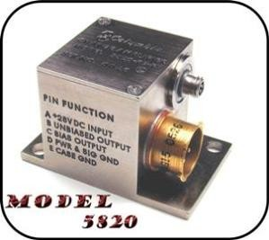 Miniature Charge Amplifier w/10:1 gain Adjustment-Image