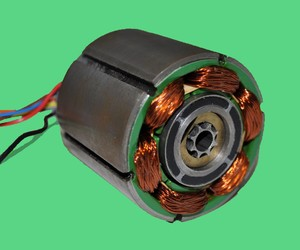 Frameless Motor Capable of Speeds up to 70Krpm-Image