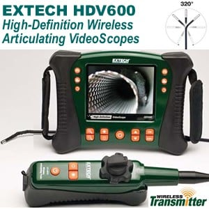 Hi-Def Video Inspection Borescope Camera Series-Image