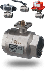 101 Series Actuated Ball Valves -Image