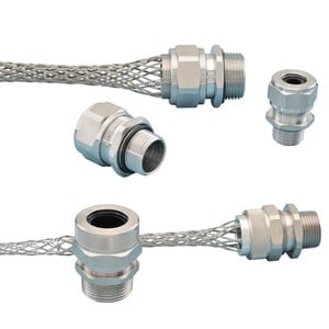 Stainless Steel/Nickel Plated Aluminum Cord Grips-Image