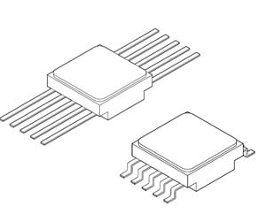 MSK110RH Dual +2.5V Precision Voltage References -Image