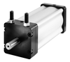 Brute Series Rotary Vane Actuators by Turn-Act-Image