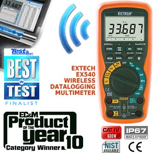Cat IV Wireless Multimeter & Datalogger-Image