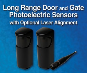 Long Range Door and Gate Photoelectric Sensors-Image