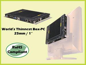 Ultra-Slim, Fanless Box PC-Image