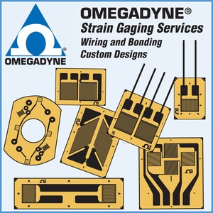 STRAIN GAGING SERVICES AT OMEGADYNE-Image