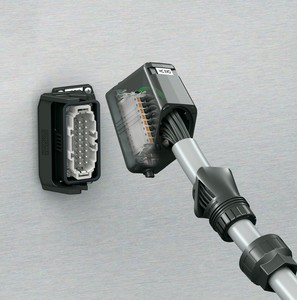 Heavy-duty rectangular plug connector system-Image
