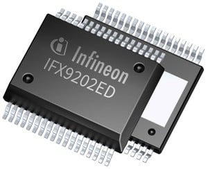 Fully Integrated Dual H-Bridge Driver-Image