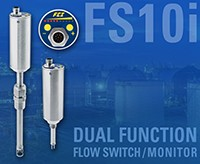 Dual Function FS10i Flow Switch/Monitor Cuts Costs-Image