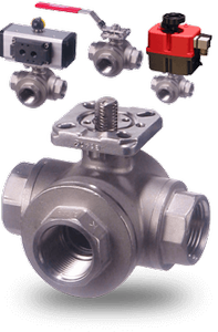 33D Series 3-Way Multiport Ball Valves-Image
