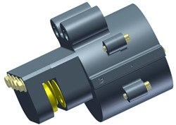 Spring Applied Brake Used on Unlimited Disc Sizes-Image