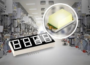New High-Reliability 1608-Size White Chip LED -Image