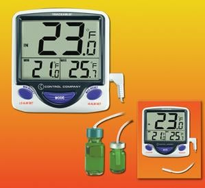 Traceable® Jumbo Refrigerator/Freezer Thermometer-Image