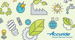 A FEW WAYS ACCURIDE® GOES GREEN-Image